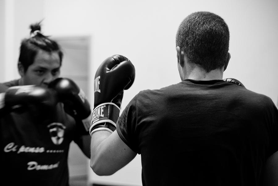 ASD La Dama Kombat, palestra savate, kick boxing, k1, Genova