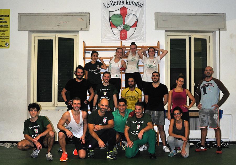 palestra - La Dama Kombat, Genova. Boxe Francese Savate - kick boxing