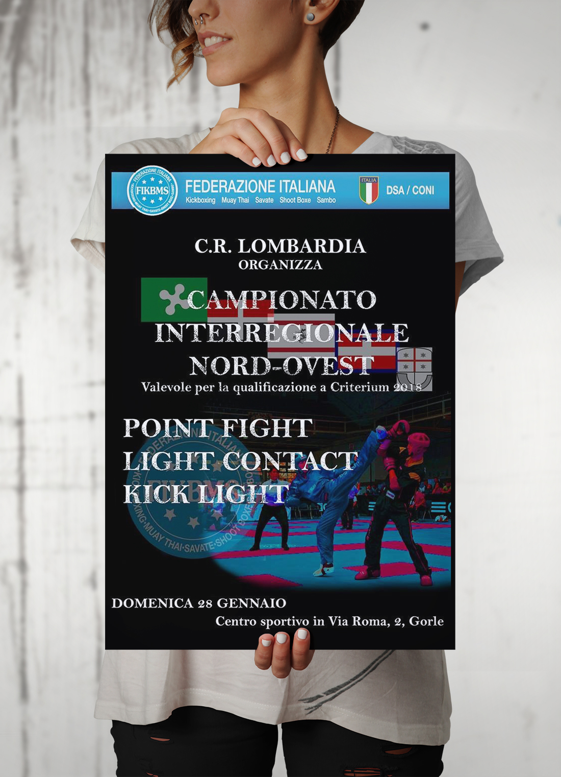 Campionato interregionale nord-ovet, ASD La Dama Kombat, palestra savate, kick boxing, k1, Genova