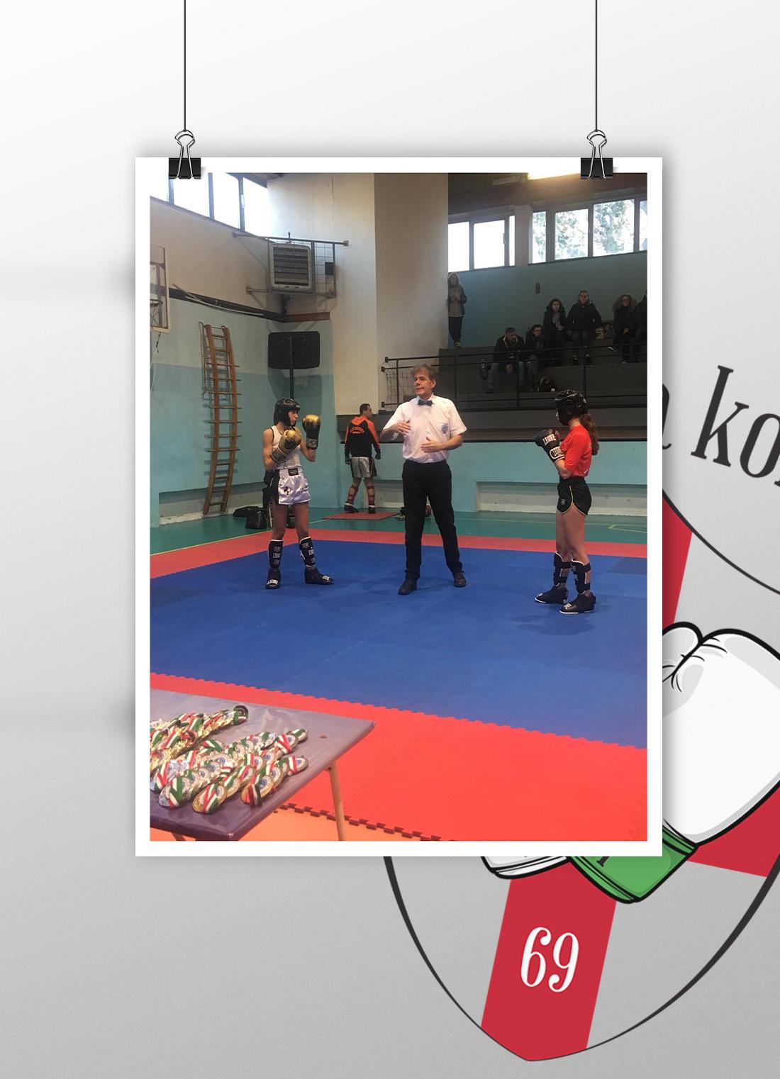 Campionati regionali di savate e kickboxing La Dama Kombat
