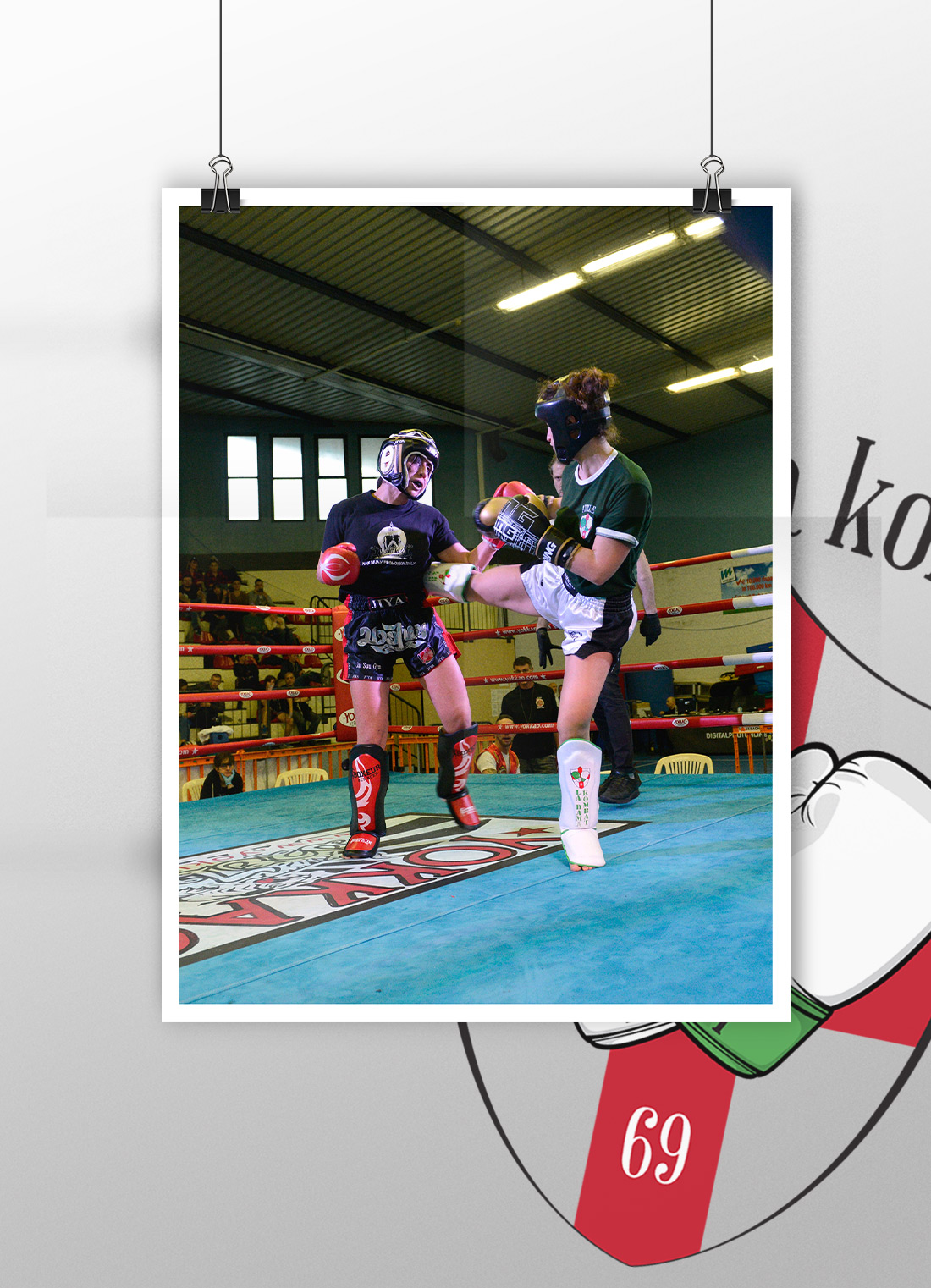 jay suu fighting day, la dama kombat, savate, genova