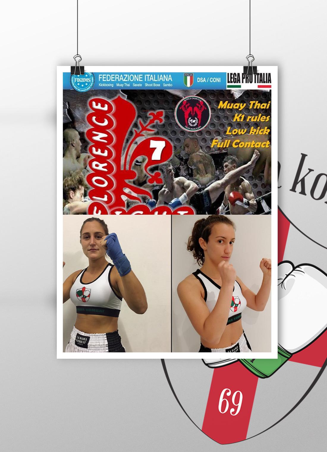 Florence fight 7-ladamakombat-savate arti marziali genova